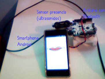 Prototipo de asistente de PRL basado en Arduino.